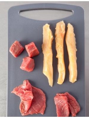 Plancha de viande et légumes