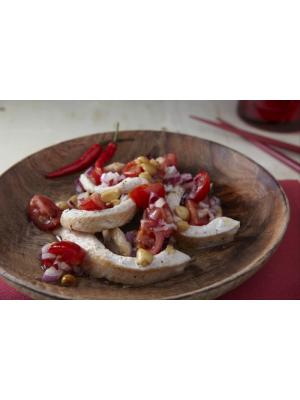 Recette de Plancha de dinde à la cacahuète