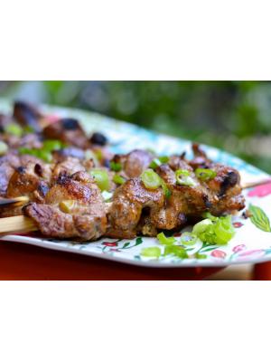 Brochettes de porc aux cinq épices-chinois