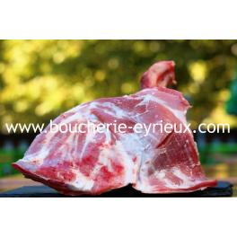 Épaule d'agneau avec os (pièce de 1kg500)