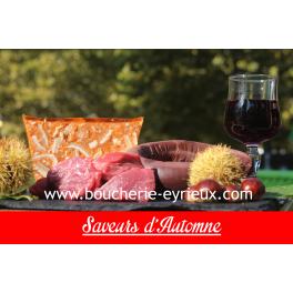 Colis d'automne (tendance Boeuf)