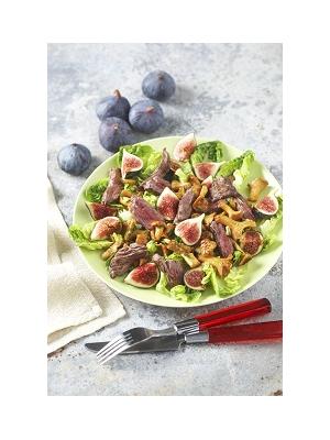 Emincé de bavette en salade d'automne
