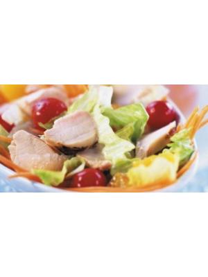 Salade de lapin aux zestes d'orange