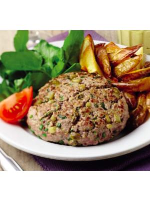 Steak haché façon tartare