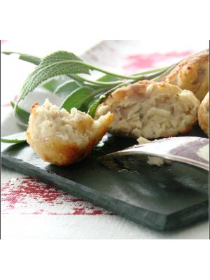 Boulettes de poulet à la sauge